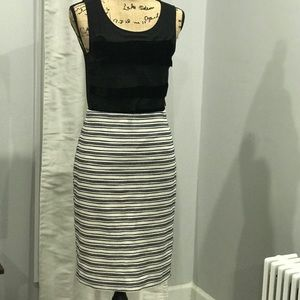 Ann Taylor striped skirt size 8